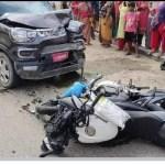 काठमाडौंको शङ्खमूलमा मोटरसाइकल दुर्घटनामा सुदीपको ज्यान गयो
