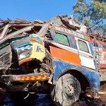 रोल्पामा तेल बोकेको ट्याङ्कर पल्टियो, चालकको मृत्यु