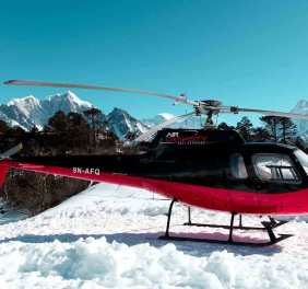Langtang Valley Helicopter Landing Tour