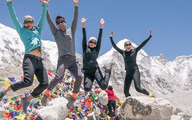 Mandy Moore On Everest Trek