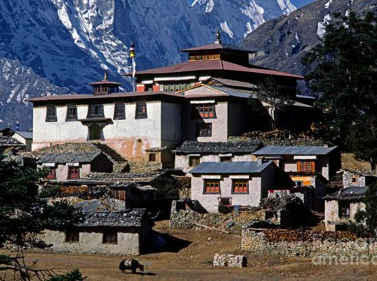 Thyangboche trekking