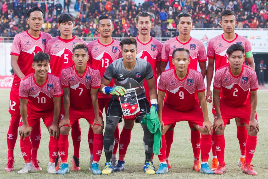 National Football team of Nepal
