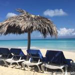 Plaża na Kubie.