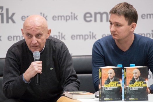 Spotkanie z Jerzym Dziewulskim w Empiku [ZDJĘCIA]