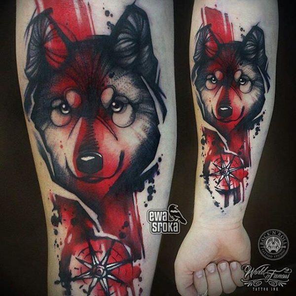 Kocie Tatuaże Ewy Sroki Kto Się Nie Dziara Ten Fujara