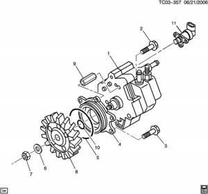 Fuel Injection Pump Drive Gear, ChevyGMC (200106) 66L