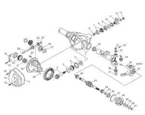 Dana Outer Stub Axle Oil Seal Ford (199904) F250350450550 (Dana 60) Inner Seal