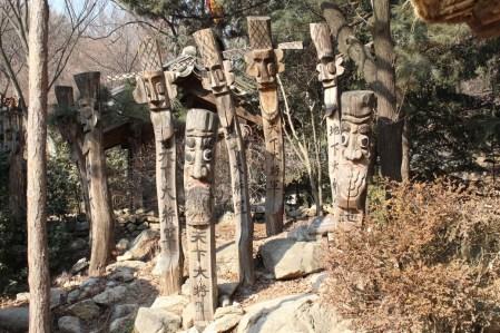 Духи охраняют парк от злых духов