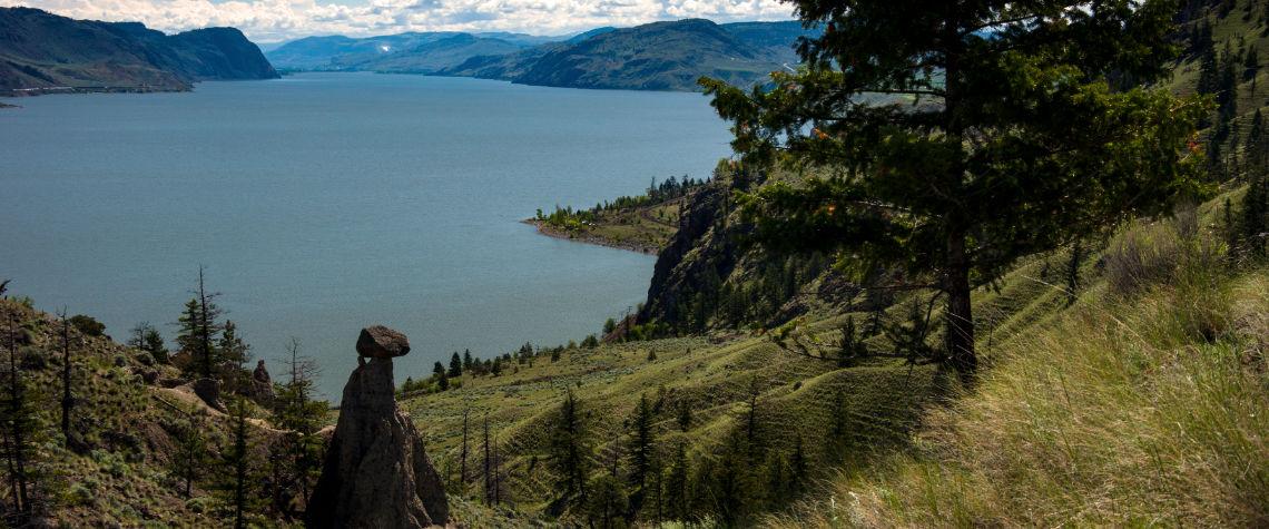 Kamloops Lake near Savona, BC