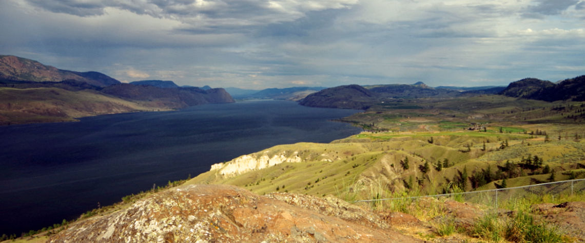 Kamloops Lake Lookout near Savona, BC