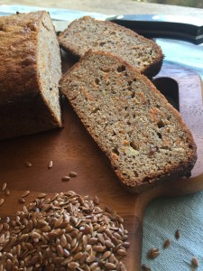 buckwheat, banana bread, flaxmeal, gluten free, dairy free, nutritious, delicious, kt's nutrition