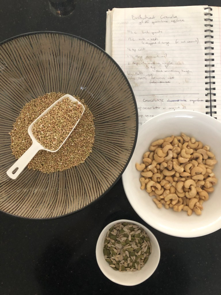 healthy cheaper buckwheat nuts and seeds granola activated or quick