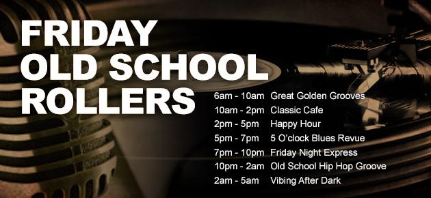 Friday Old School Rollers KTSU FM Radio