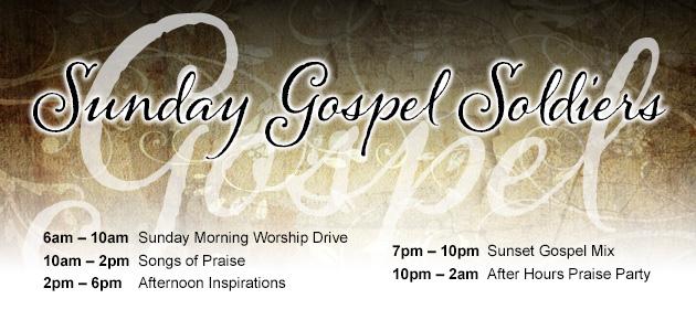Sunday Gospel Soldiers KTSU 90.9