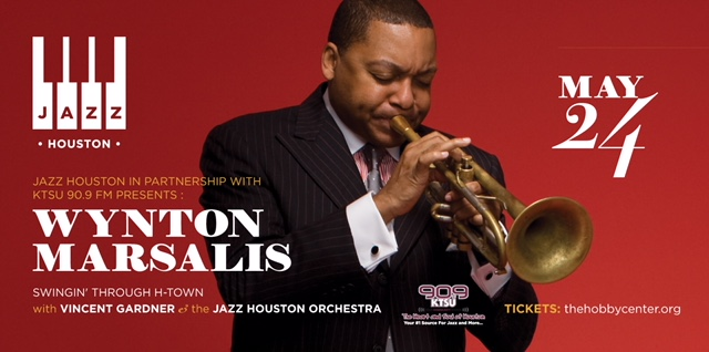 Wynton Marsalis at The Hobby Center