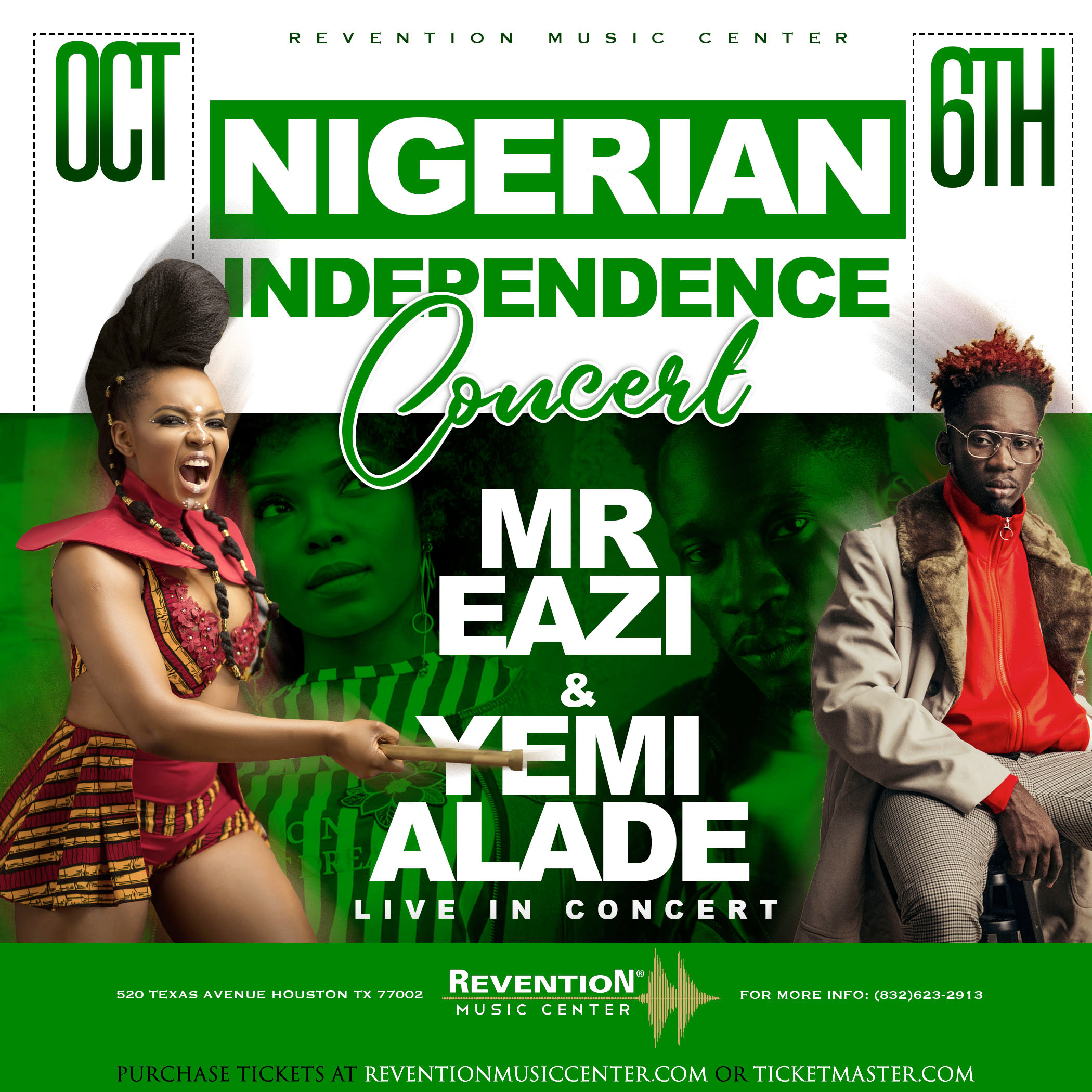 NIGERIAN INDEPENDENCE CONCERT OCTOBER 4 Houston Flyer