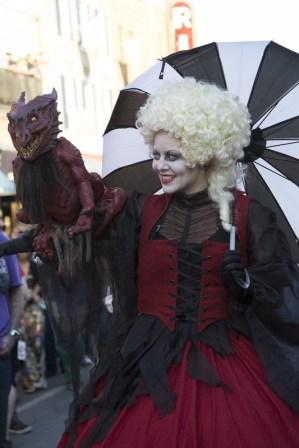 Gothic dragon lady