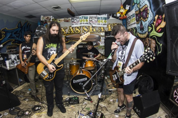 Sex Chamber performing at Texas Skate during MR Fest