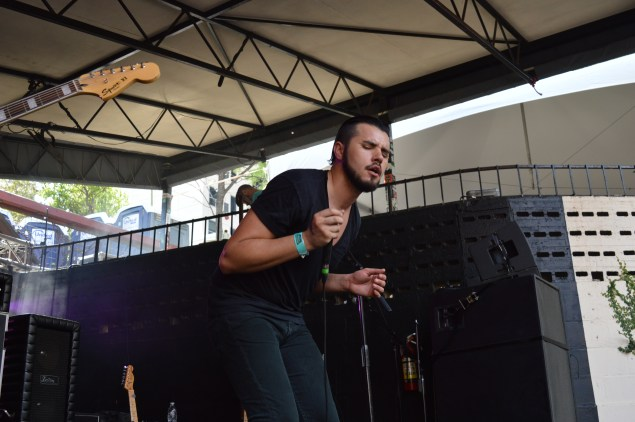 The Midnight Stroll frontman Aaron Kyle Behrens always hypnotizes the crowd with his voice.