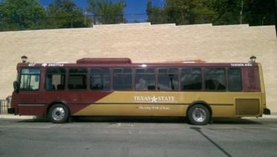 Texas State Bobcat Shuttle.