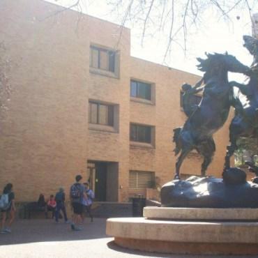 Stallions Statue