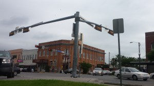 Intersection in the Square.