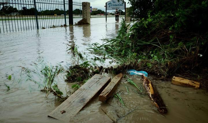 flooding in San Marcos, TX