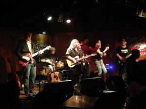 Julie Nolen at Saxon Pub CD Release - Photo by Jimmy Preston