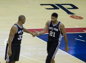 Spurs at Wizards 2/5/14. Photo by Keith Allison via Flickr.