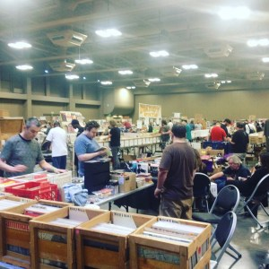 Austin Record Convention. Photo by Kate Wiggins.