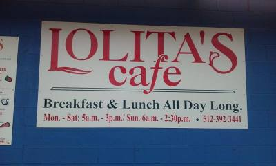 Lolita's serves breakfast tacos and regular tacos all day long. Photo by Austin Cowan.