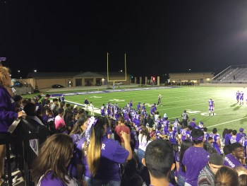 San Marcos High School beat Akins High School for their Homecoming game. Photo by Alex Gifford.