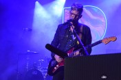 'Colony House guitarist Scott Mills played to a pack show at the Pandora House.