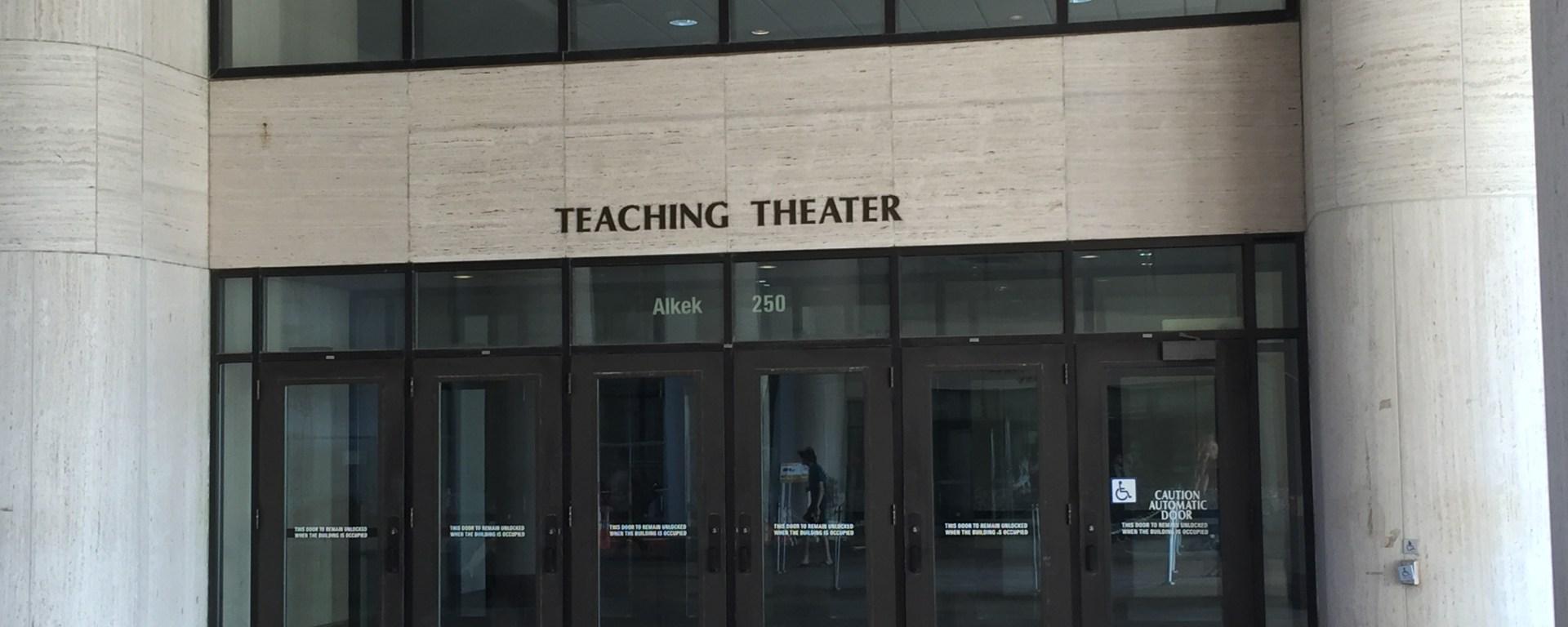 Alkek Teaching Theater