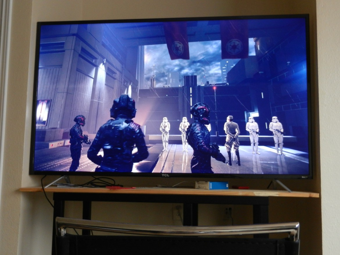 The fifth mission of Star Wars Battlefront II where Operation: Cinder was seen.