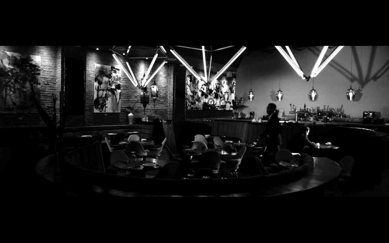 screenshot from Empathy, Inc in a bar