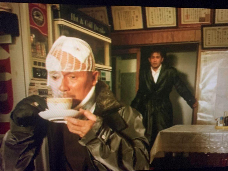 screenshot from Gozu of Mr. Nose and Minami