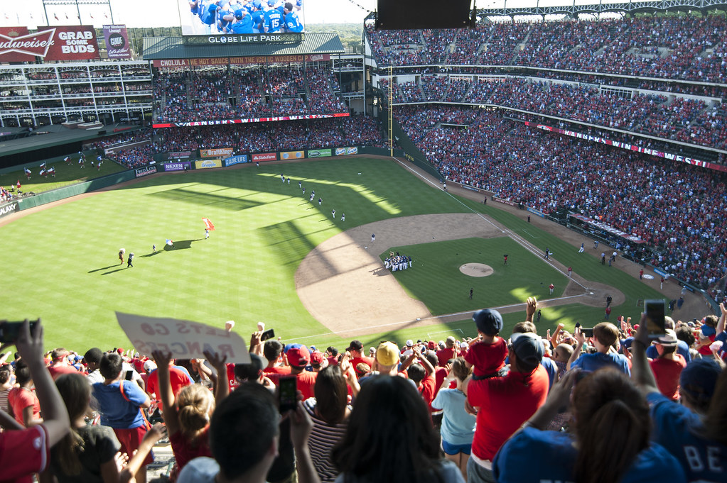 Globe Life Field was the former home of the Texas Rangers. This season the Rangers move to their new ballpark Globe Life Park.
