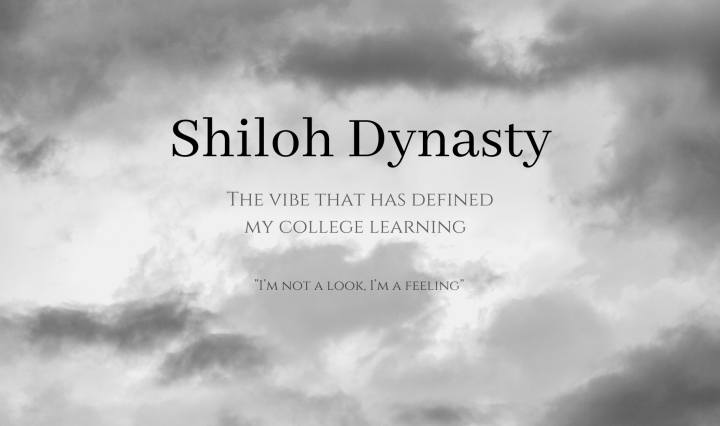 """Shiloh Dynasty: The Vibe that has defined my college learning """"I'm not a look, I'm a feeling"""""""