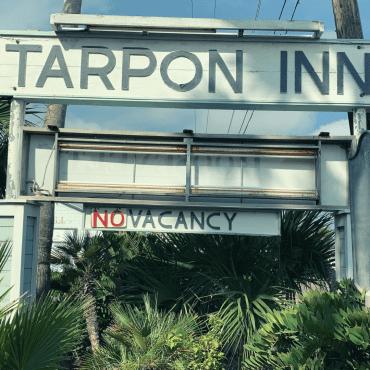 Photo of the Tarpon Inn sign