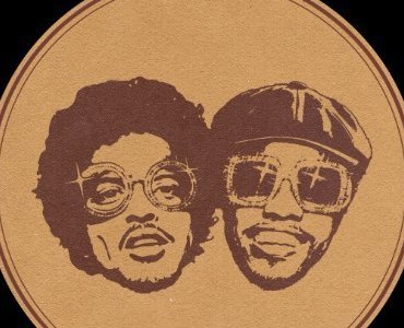"""Silk Sonic cover photo for """"Leave the Door Open"""" debut single. Pictured is Bruno Mars left and Anderson Paak right."""