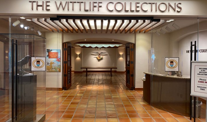 Wittliff collection entrance
