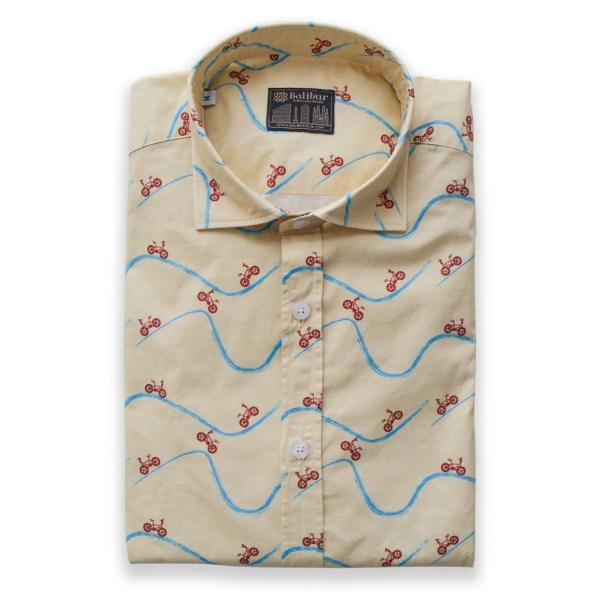 Camisa manga larga my way algodon 100%