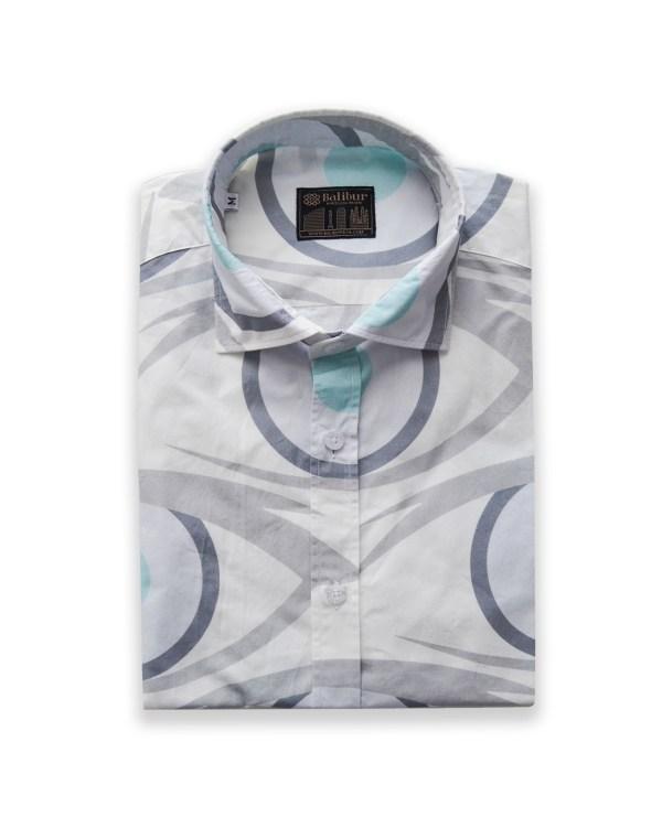 Camisa Manga corta visual algodon