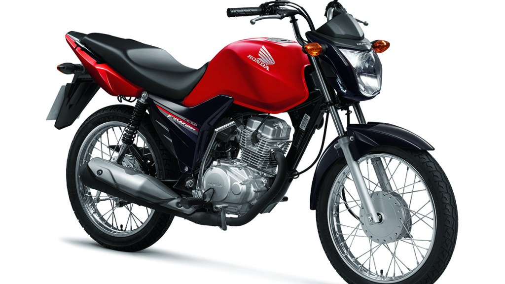 Parcela da Honda CG 125i Fan