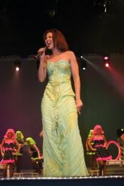 Karmyn performing at Miss Louisiana