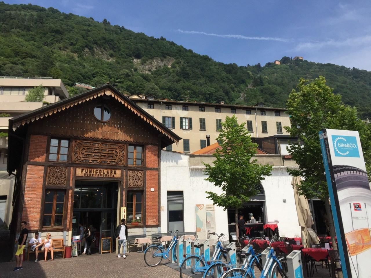 ゴンドラ コモ イタリア