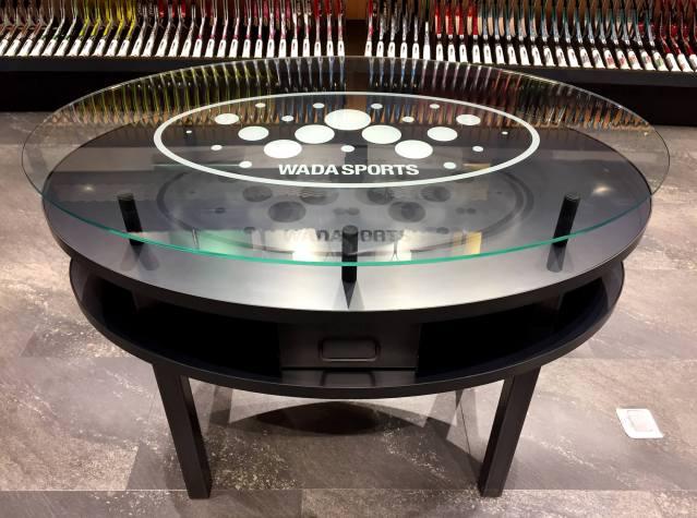 黒皮鉄で製作したテーブル