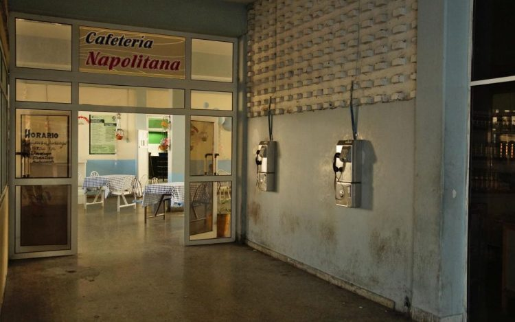 Staatliche Cafeteria in Cienfuegos