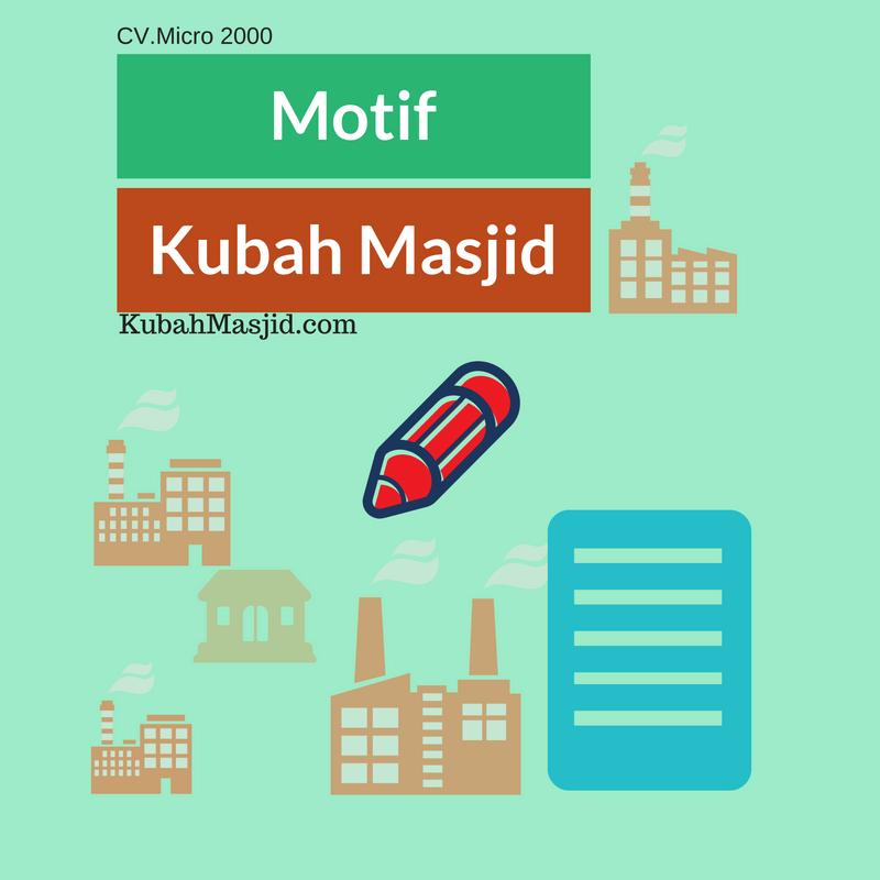 Motif Kubah Masjid